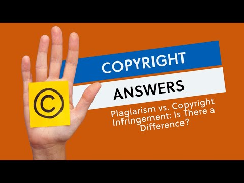 Plagiarism vs.  Copyright Infringement: Is There A Difference?