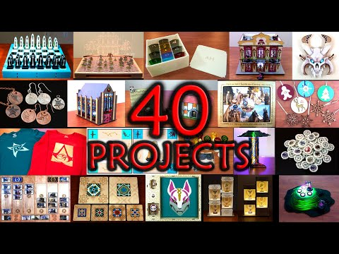 40 Laser Cutter Projects and the Skills They Teach