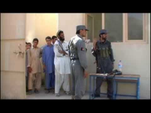 Raw Video: Soldiers Run New Afghan Medical Clinic