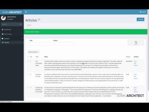 Admin Architect - Resources