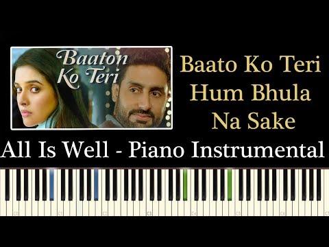 Baaton Ko Teri Hum Bhula Na Sake - Piano...