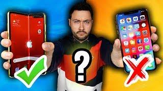 Je quitte Mon iPhone pour le Smartphone Pliable ?!