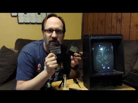 Adjusting the Image on Vectrex Game Console