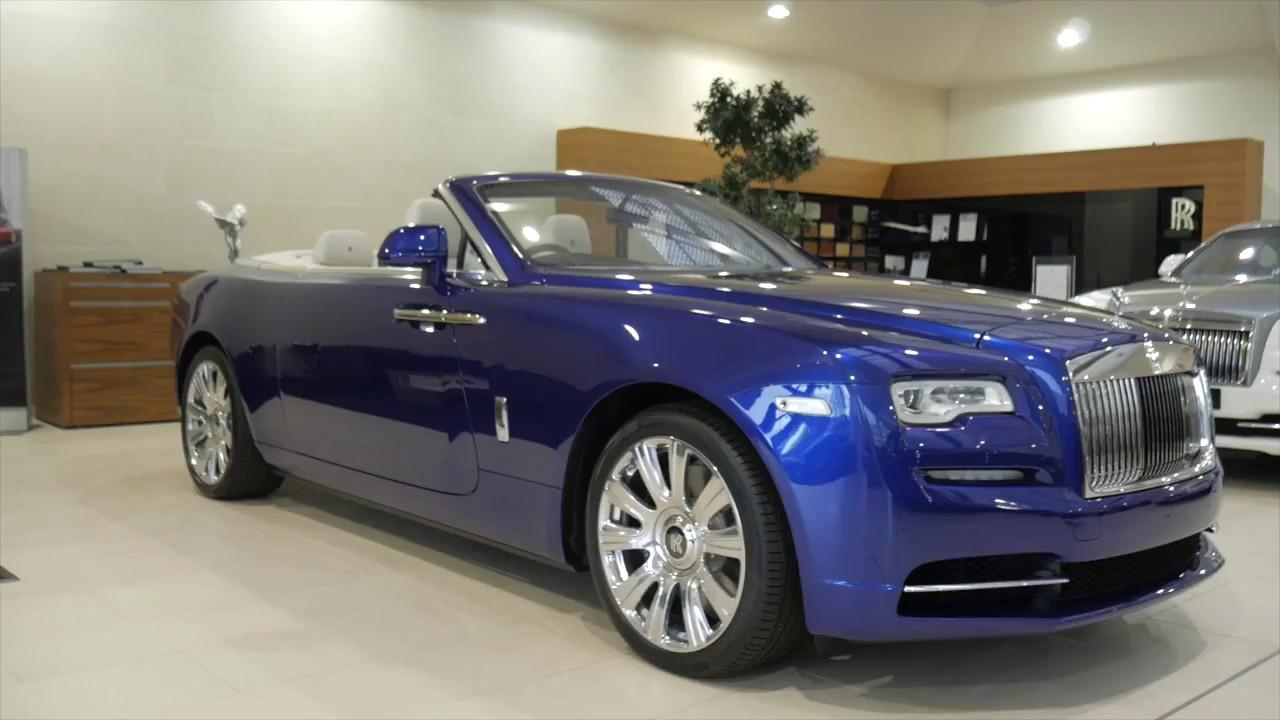 rolls royce dawn dark blue. Rolls Royce Dawn In Salamanca Blue Dark