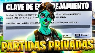 🔴 *TODAY FREE 1000v*⚠️PRIVATE PARTIES WITH CODE⚠️ #PAVOS #PARTIDASPRIVADAS #FORTNITE
