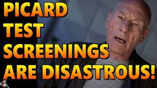 Picard Test Screenings A Disaster, Discovery Hosed, Kurtzman Out Again