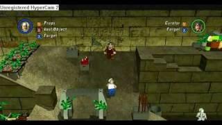 LEGO Indiana Jones 2 The Adventure Continues Xbox 360 Gameplay World Builder