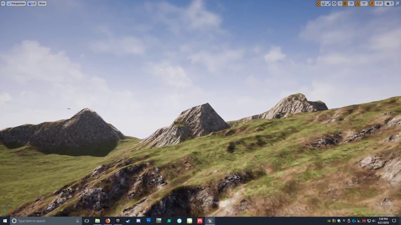 Heightmap to UE4 with my Auto Material
