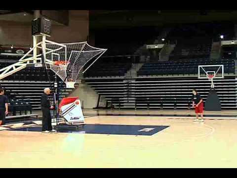 basketball shooting machine the gun