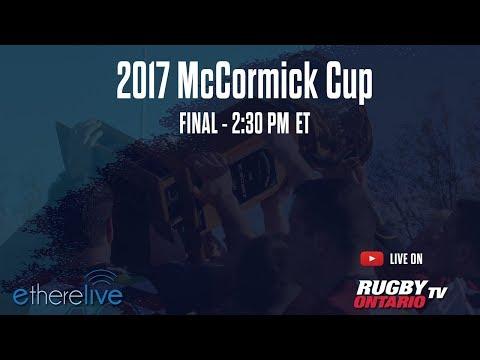 2017 McCormick Cup Final