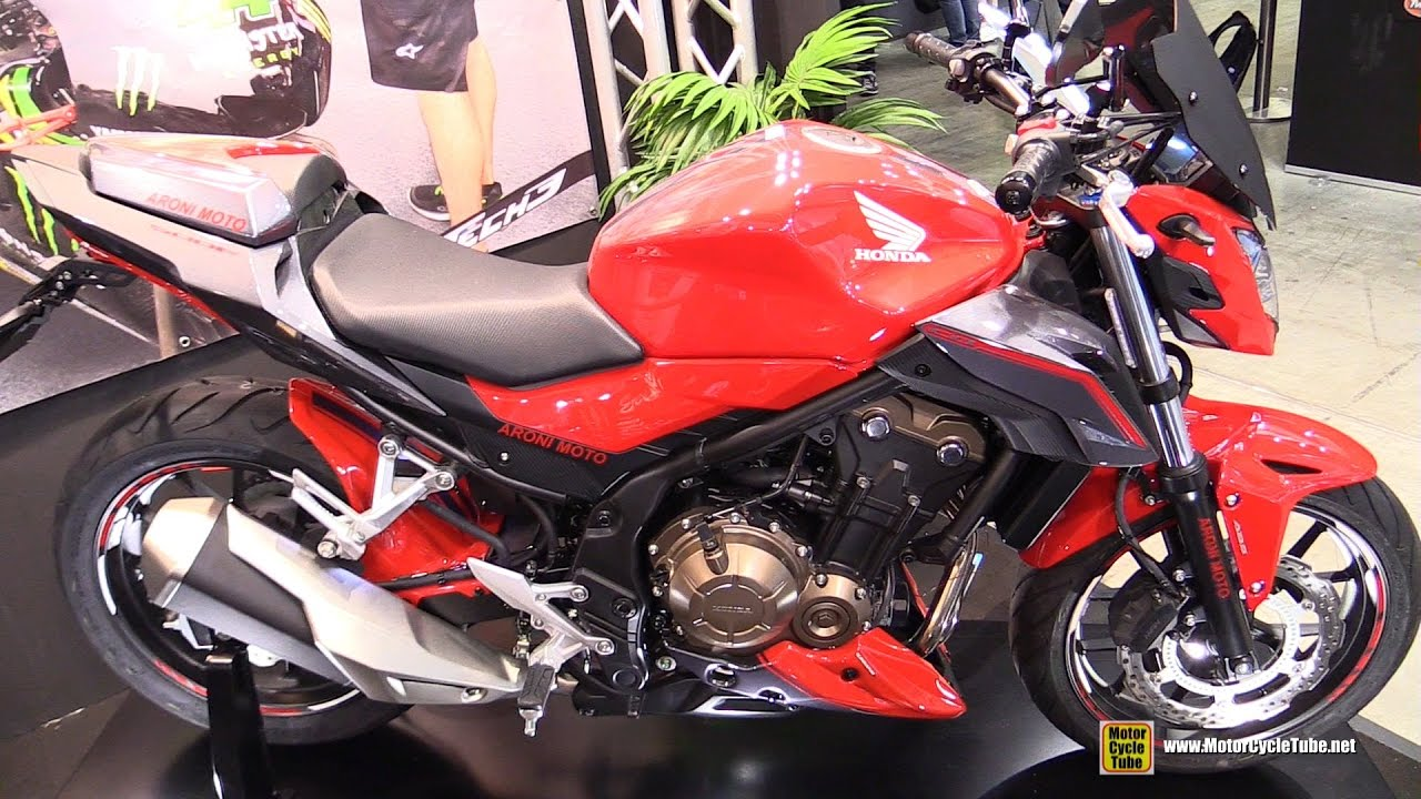 2017 honda cb 500f ermax customized walkaround 2016 eicma milan youtube. Black Bedroom Furniture Sets. Home Design Ideas