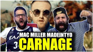 THIS IS HYPE!!! Carฑage - Learn How To Watch ft. Mac Miller & MadeinTYO *REACTION!!