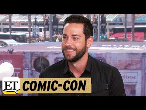 Comic Con 2017: Zachary Levi on Joining 'Psych' as the Bad Guy