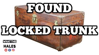 FOUND a LOCKED TRUNK / Real Life Storage Wars Unit Auction Locker / Opening Mystery Boxes 1-19-19