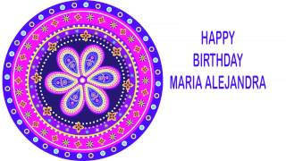 MariaAlejandra   Indian Designs - Happy Birthday