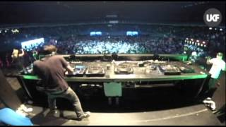 UKF vs RAMPAGE @ Lotto Arena Antwerp: Murdock & DJ A.M.C. & Quest One MC feat Jenna G
