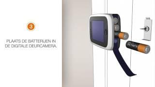 Montage Intersteel digitale deurcamera's - Deurbeslagdirect.nl