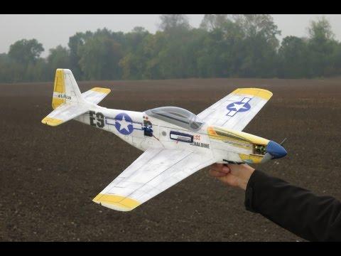 Hacker Model P-51 Mustang, maiden flight