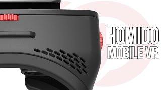 Egy jól összerakott mobil VR headset | Homido VR Headset teszt