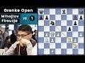Super GM vs CM = Easy Win? Think Again! - Mihajlov vs Firouzja | Grenke Open 2019 Rd. 1