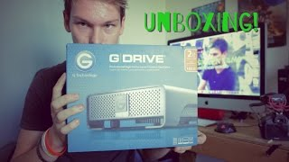 G-Technology (G-DRIVE 2TB External Hard Drive) Unboxing
