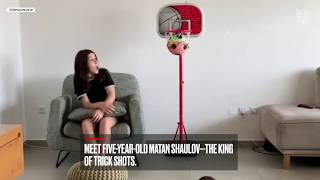 Matan Shaulov Is the King of the Football Trick Shot....Despite Being Only 5-Years-Old