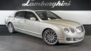 Bentley Continental Flying Spur Speed Videos