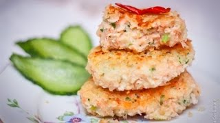 Готовим английские котлеты с лососем, брокколи и картофельным пюре. Лучшие рецепты от wowfood.club