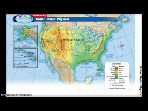 Us Physical Features Map Games YouTube - Us physical map game