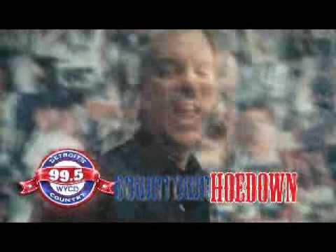 WYCD Downtown Hoedown TV Promo voiced by John Willyard