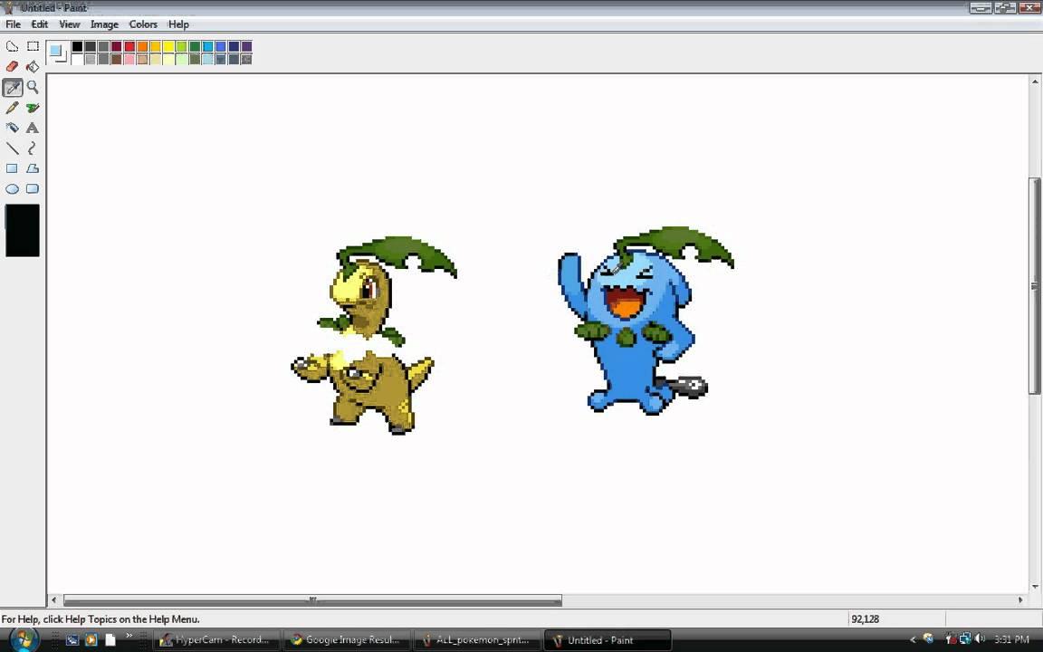 How to Make a Pokémon Sprite