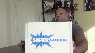 Super Geek Box JUNE 2017  UNBOXING!!!