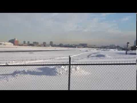 Last flight of the Alberta Aviation Museum's 737