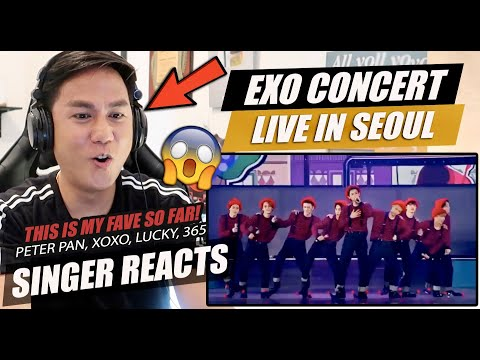 EXO-K: Peter Pan, XOXO, Lucky, 365 EXO Planet 2 'The EXOluXion' In Seoul1 | SINGER REACTION