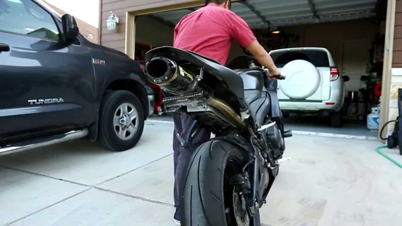 cbr600rr walkaround and two brothers exhaust