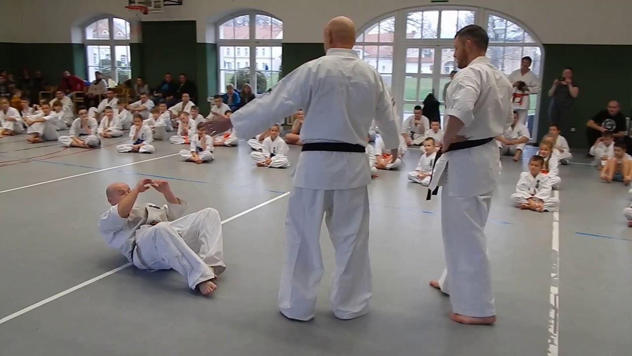Mikołajkowy trening karate