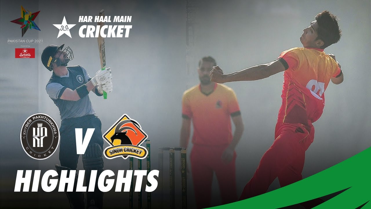 Short Highlights | Sindh Vs KP | Pakistan Cup 2021 | PCB | MA2T