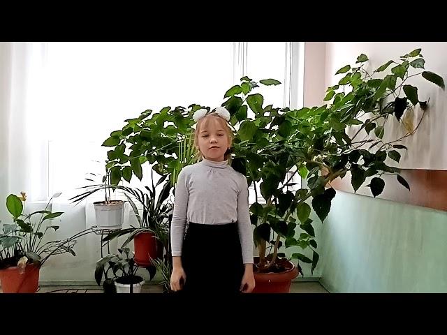 Изображение предпросмотра прочтения – ДарьяШелухо читает произведение «Поёт зима— аукает…» С.А.Есенина