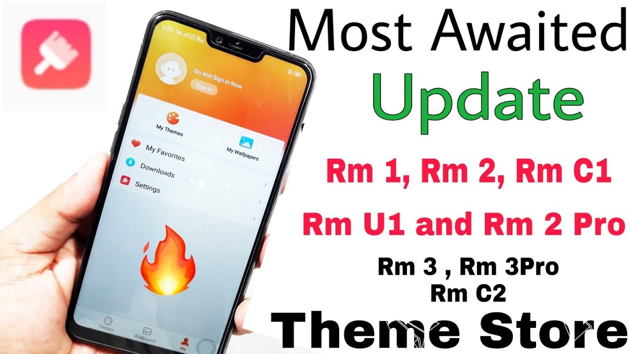 A Real Update (Theme Store Update ) for all Realme phones | Realme 1, 2, 2  pro, U1, C1, Rm 3 and pro