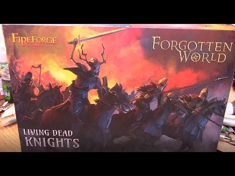 Model Review: Fire Forge Living Dead Knights