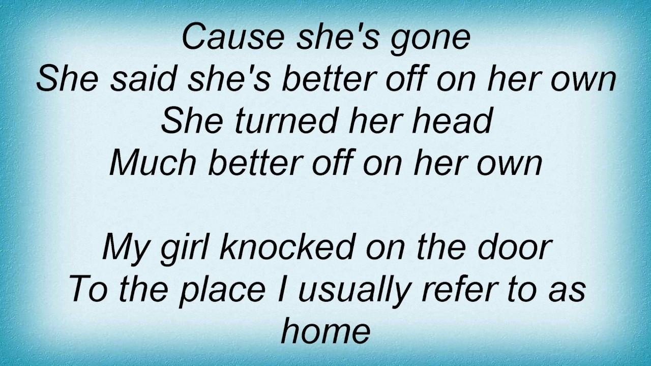 Roxette - Better Off On Her Own Lyrics - YouTube