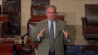Kaine Defends Fair Housing Policies On Senate Floor