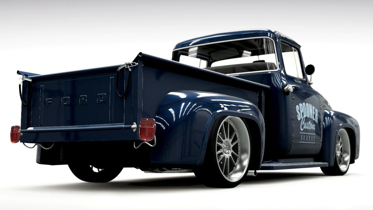 Build A Ford >> Forza Horizon 2 Custom Car Build Ford F 100 Hot Rod Youtube