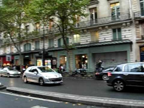 PARIS boulevard haussmann