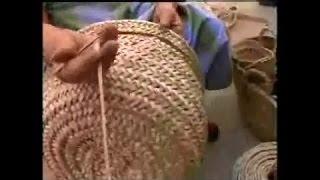 Изучаем традиционную каталонскую роспись и плетение из листьев веерной пальмы. Мастер класс