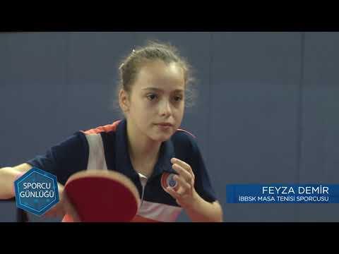 Sporcu Günlüğü | Masa Tenisi - Feyza DEMİR