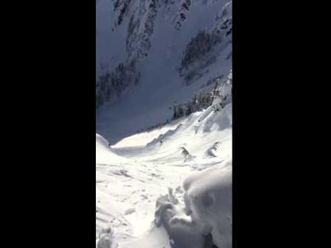 Backcountry Ski Touring at Snoqualmie Pass in Washington