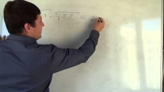 Алгебра 11 класс. 17 сентября. свойства корня n й степени #6