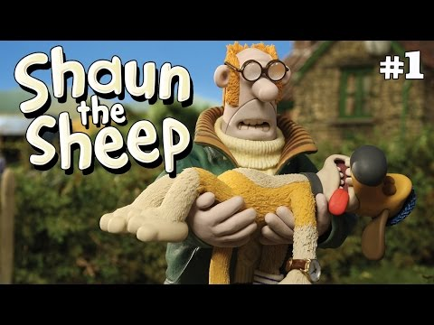 Shaun the Sheep - Akal Bulus [Double Trouble] HD