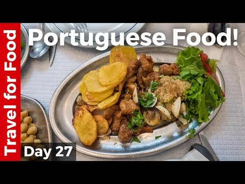 Portuguese Food Tour - FULL DAY of Eating in Lisbon, Portuga